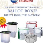Election Equipment Asia Ballot Boxes