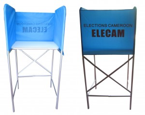 Canvas Booth _ Cameroon Elections